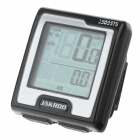 "JAKROO CG04YW-101 1.5"" LCD Bicycle Computer / Speedometer - Black (1 x CR2032)"
