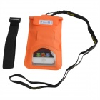 Tteoobl T-03C Protective TPU Waterproof Bag for Iphone 4 / 4S / 5 / 5s - Orange