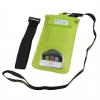 Tteoobl T-03C Protective TPU Waterproof Bag for Iphone 4 / 4S / 5 / 5s - Green