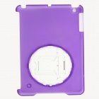 Protective Plastic Back Case / Stand Holder for Ipad MINI - Purple