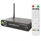 CX590 Quad Core Android 4.2 Smart TV Box Media Player Hub w/ /1GB RAM / 8GB ROM / HDMI - Black