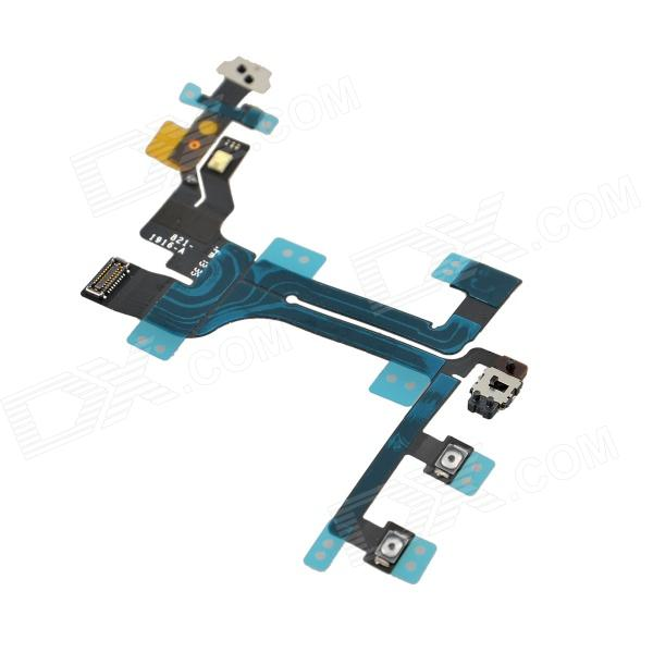 Replacement Switch Button Flex Cable for Iphone 5C - Black top lcd iphone 5c