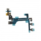 Botón de interruptor de repuesto Flex Cable para Iphone 5C - Negro