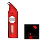 Solar Powered Digital Tire Pressure Gauge with Depth Measurer and Flashlight