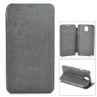 Protective PU Leather + PC Case for Samsung Galaxy Note 3 N9000 - Black