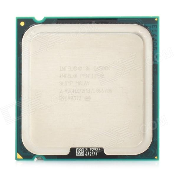 Intel Pentium E6500 Dual-Core 2.93GHz LGA 775 45nm 65W CPU (Second Hand)
