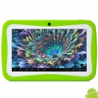 "BENEVE M755(ARMi5) 7"" LCD Android 5.1 Tablet PC w/ 512MB RAM / 8GB ROM for Kids - Green + White"