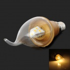 Cnlight E14 3W 220lm 3500K 10-2835 SMD LED Warm White Light Candle Lamp (220V)