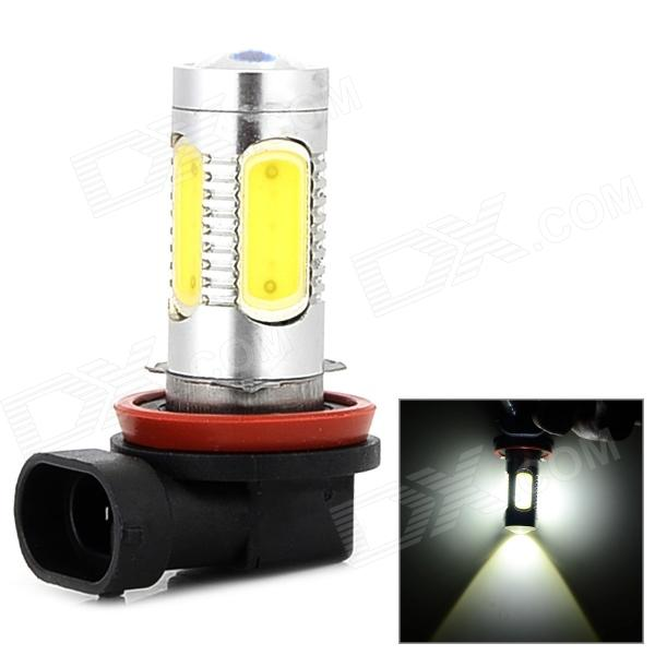 H8 11W 320mA 400lm blanc froid CREE XP-E + COB LED voiture brouillard Lampe (13.6v)