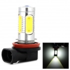 LD 11w 320mA 400lm 6500k H8 White Light CREE XP-E LED + COB LED Fog Lamp for Car (13.6v)