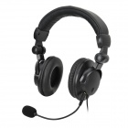 BESTSONIC 4-in-1 Gaming Headphone w/ Microphone for PS4/PS3/PC/XBOX360 - Black
