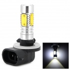 LD 11W 320mA 400lm 6500K 880 White Light Car Headlamp w/ CREE XP-E LED + COB LED