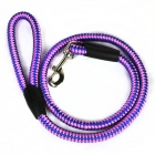Pet Nylon Traction Rope for Dog - Blue + Black + Pink