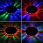 ZnDiy-BRY Sunflower 48-LED RGB Light 8W Voice-Activated / Auto Rotating Party Stage (EU Plug)
