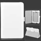 Stylish Protective PU Leather Case for Asus ME372 - White