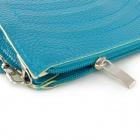 Wellenmuster Mode Damenhandtasche Clutch / One-Shoulder Bag - Blau