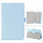 Stylish Protective PU Leather Case for Asus ME372 - Light Blue
