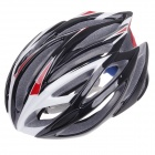 TITANS CG03DG-007 Outdoor Bicycle Cycling Helmet - Black + Red + White (Size-L)