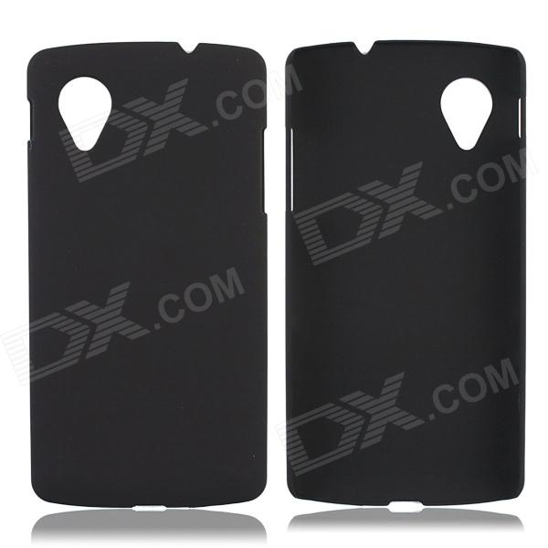 Super Thin Protective Glaze PC Back Case for LG Nexus 5 - Black
