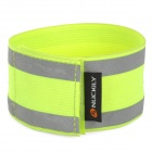 NUCKILY RG02 Cycling Bicycle Reflective Pant Band Leg Strap Belt - Fluorescent Green