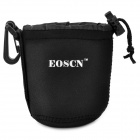 EOSCN  S Waterproof Protective Neoprene Pouch Case for Camera Lens - Black