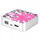 Ounuo iMove Mobile Power 8000mAh Cartoon Pattern Rechargeable Li-ion Power Cube for Cellphone