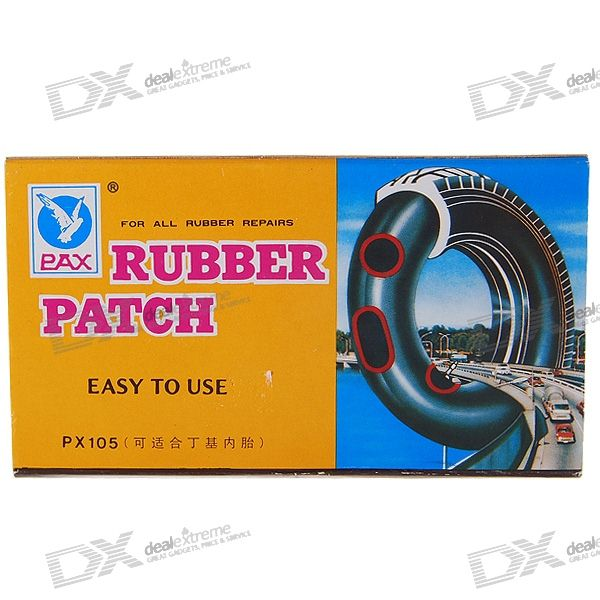 Bicycle Tire Tube  Repairing Patches with Glue