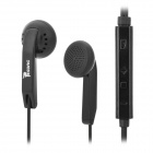 Resong X2 Overweight Bass Stereo In-Ear Earphone - Black (3.5mm)