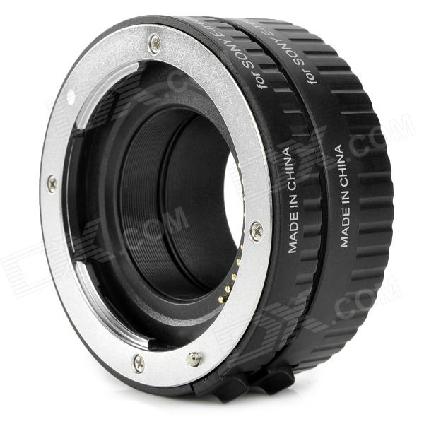 Viltrox DG-NEX Aluminum Alloy Extension Tube for Sony E-Mount Camera - Black