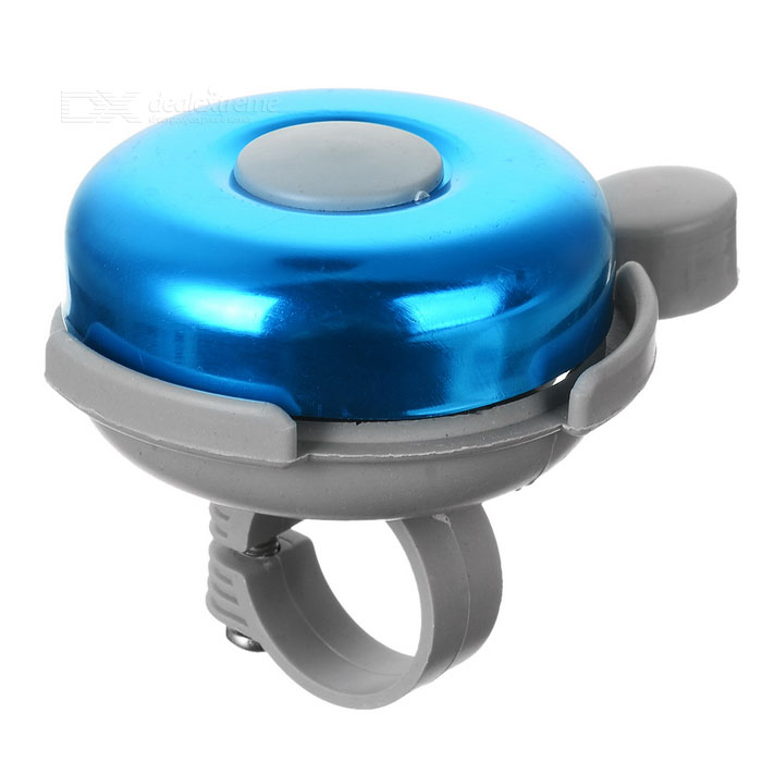 Aluminum Bicycle Mounted Bell (Blue + Grey)