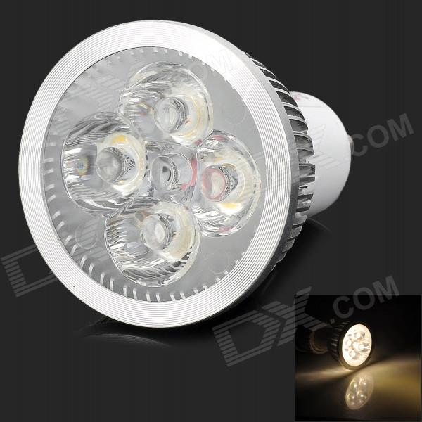 LeXing LX-SD-024 GU10 4.5W 300lm 3500K 4-LED Warm White Light Spotlight (85~265V)