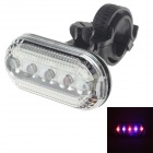 SIVE-SAIL FF-105 50lm 5-LED Bicycle Safety Warning Light - Black (2 x AAA)