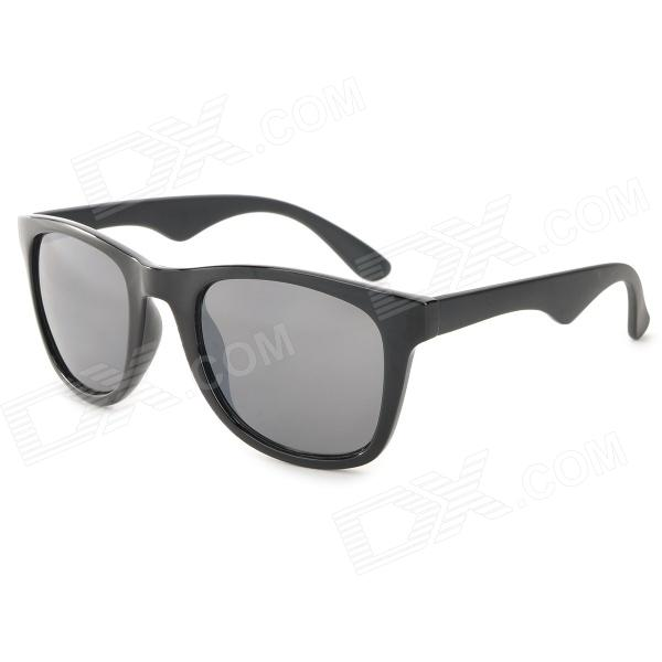 OREKA J056 Stylish UV400 Protection PC Lens Sunglasses - Black (Pair) ремарк эрих мария на обратном пути роман