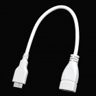 OTG Cable for Samsung Note 3 N9000 - White (22cm)