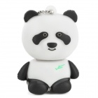 LX-0814 Cute Panda Style USB 2.0 Flash Drive - Black + White (32GB)