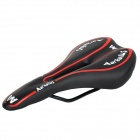 Cycling Bicycle PU Seat Saddle Cover - Black + Red