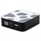 Ounuo iMove Mobile Power 8000mAh Spotty Muster Lithium-Ionen-Power Cube für Handy