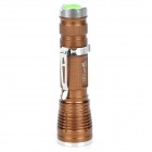 UltraFire 0513 CREE XM-L U2 400lm 5-Mode White Zooming Flashlight - Brown (1 x 18650)