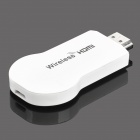 Wireless HDMI-Konverter für iPhone / iPad / Android Phones + More - Weiß + Silber
