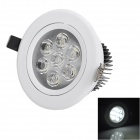 Cnlight 7W 400lm 6500K 7-LED White Light Ceiling Lamp / Spotlight (85~265V)