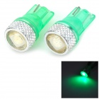 LY464 0.2W 8lm 5050 SMD LED Green Light Convex Linse License Plate / Ausverkauf Lampe (12V / 2 PCS)