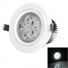 Cnlight 5W 280lm 7000K White Light LED Ceiling Lamp / Spotlight (85~265V)
