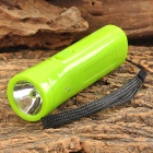 WeiQiang WQ-B18 Rechargeable 2-LED White + Purple Flashlight - Green