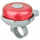 Aluminum Bicycle Mounted Bell - Red + Grey
