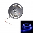 Merdia LEDCOO4H2 48W 1500lm 300-SMD-3528 LED Blue Car Decoration Light Strip - Black (5M / 12V)
