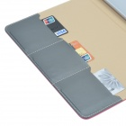 3-Folding Protective PU Leather Case Cover Stand for Ipad AIR - Deep Pink