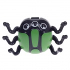 1339 Lovely Spider Style Magnets Electronic Toy - Green + Black
