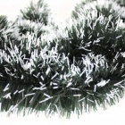 Rubia Cordifolia Color Garland Christmas Decoration - Green + White