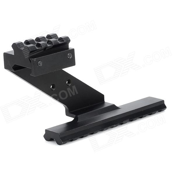 Universal Stainless Steel Rail for Imitation Gun / Guns - Black stepper motor t type wire rod linear guide rail electric slide rail automatic rail control module table stock