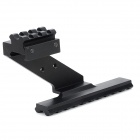 Universal Stainless Steel Rail for Imitation Gun / Guns - Black